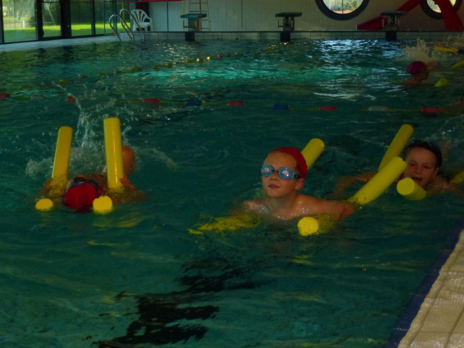 Cycle piscine pour les CE1 CE2.