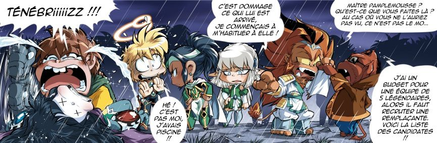 [Tome P-2] : News N°8 : Le recrutement