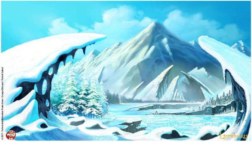 - Alysia sous la neige -