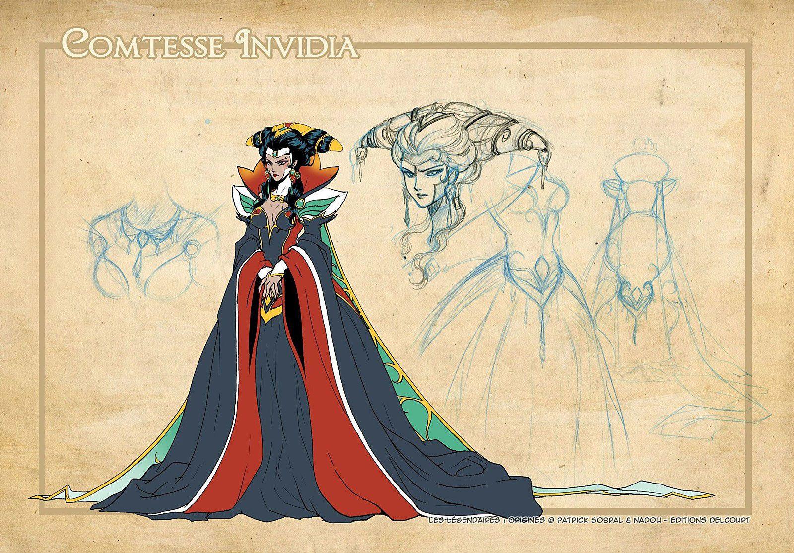 [IDL N°231] : La Reine Invidia possède une clé elfique