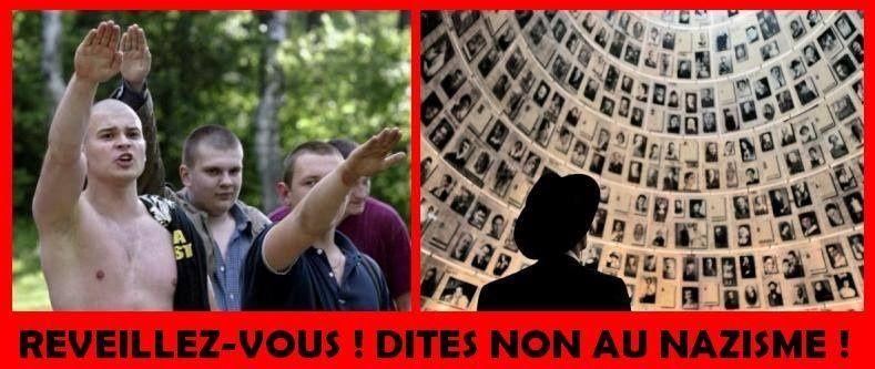 Les 2 images opposées : L'horreur dans les mêmes gestes....les actes et la conséquence !
