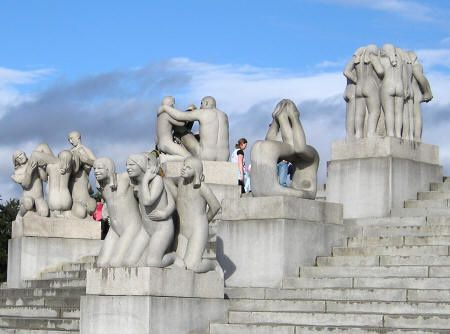 Vigeland (Gustav Thomszen) sculpteur norvégien !