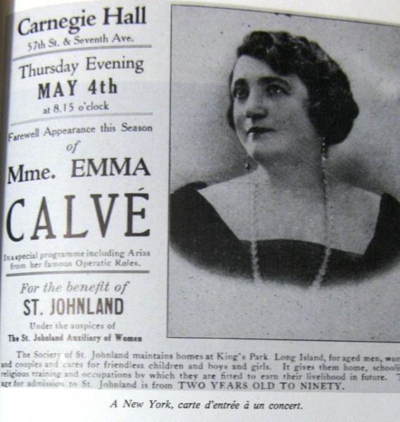 Emma Calvé, cantatrice des Causses, adulée dans le monde entier ()[]{}()