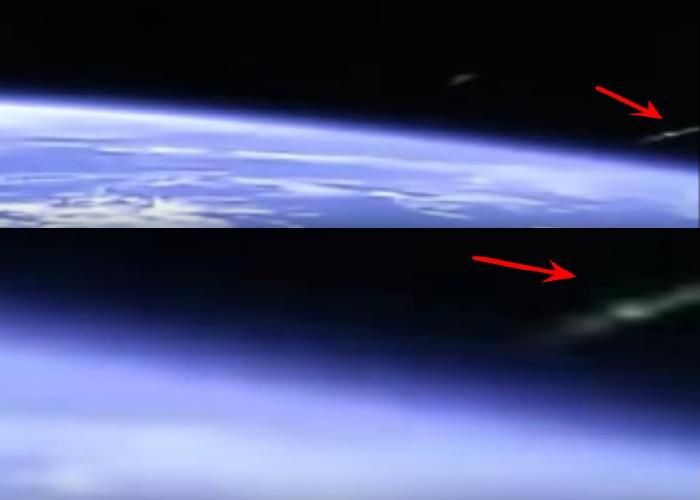 Un incroyable ovni filmé par la cam de l'ISS (video)
