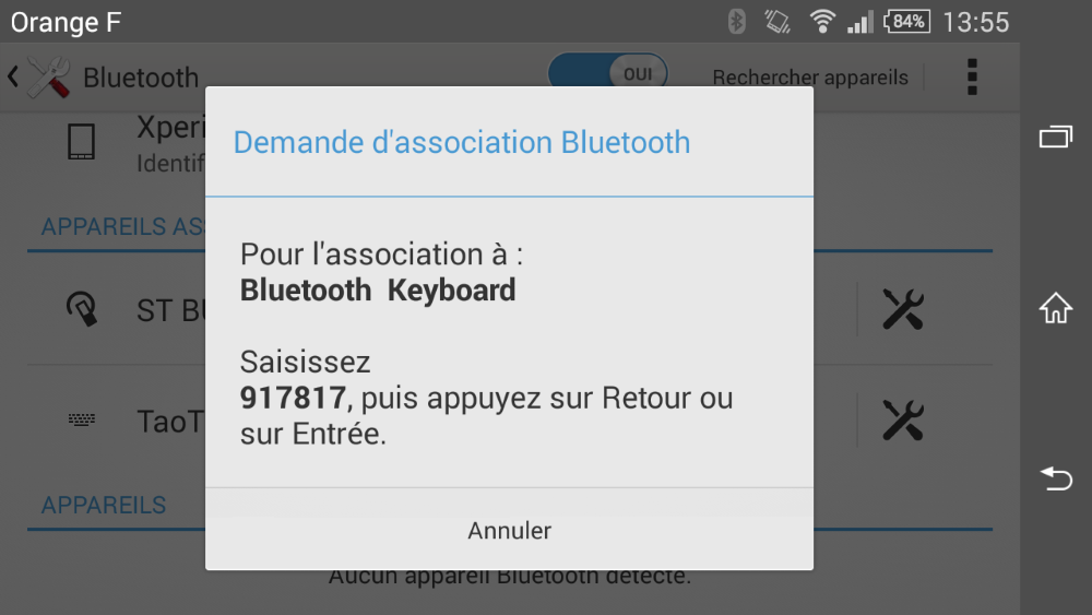 clavier bluetooth de navitech pour appareils mobiles ios  android et windows