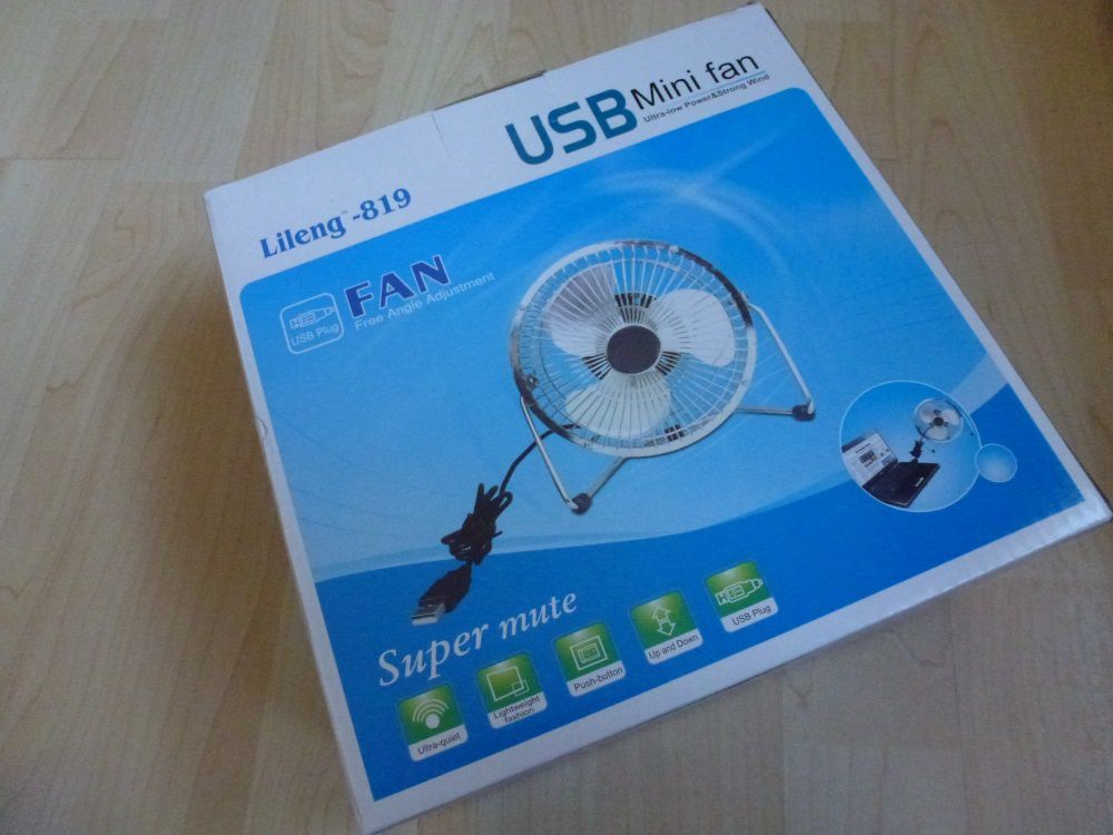 test du lileng un ventilateur usb efficace