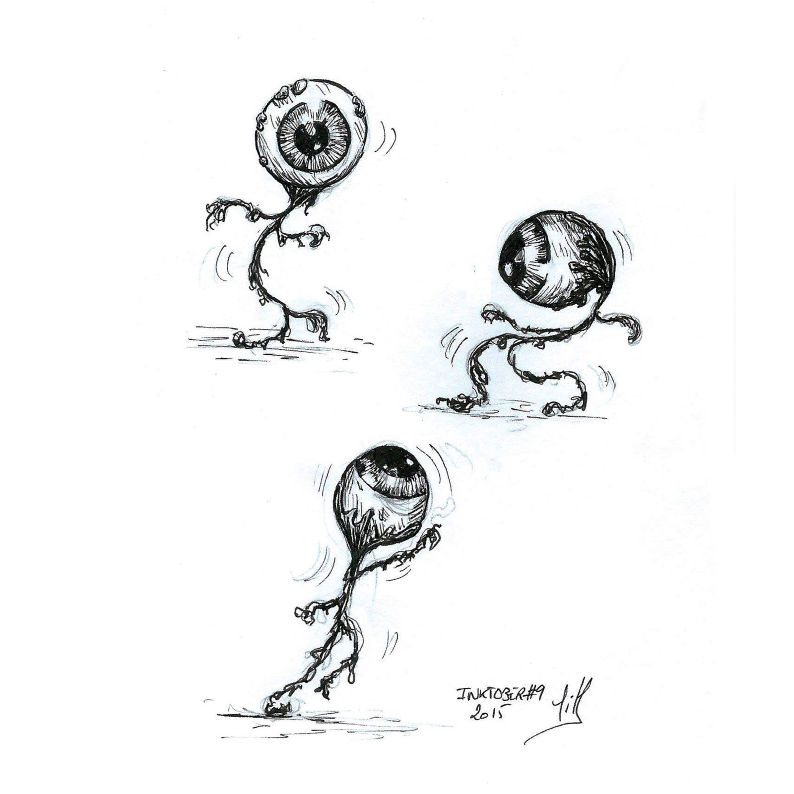 #9 : (dancing) Eyeballs