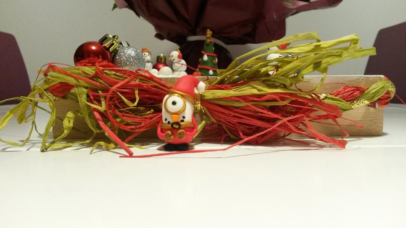 2e dimanche de l'Avent! Un petit coquin s'est invité dans ma déco de Noël !!