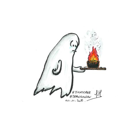 Jour 20 : Burn - Ghost