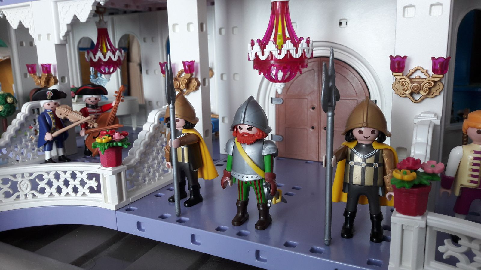 Ch teau 4250 bis mise jour for Chateau playmobil 4250