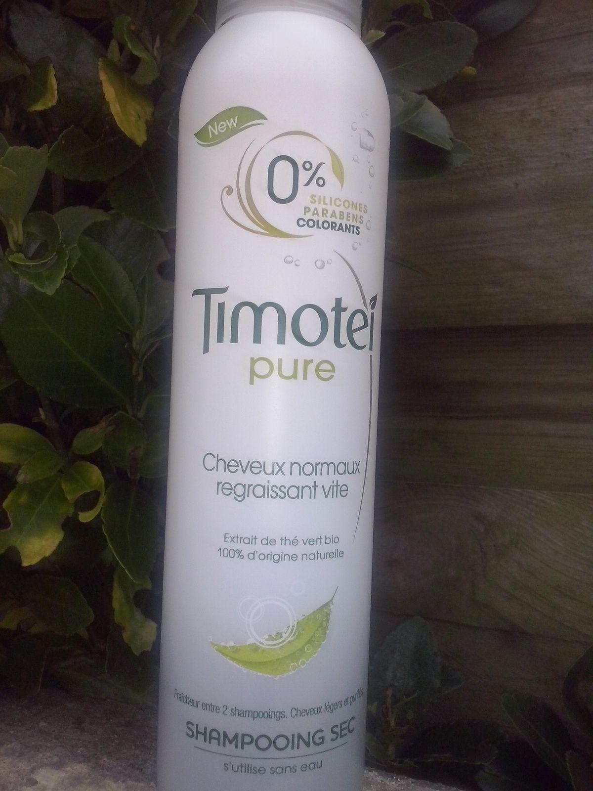pour les matins express,timotei shampoing sec