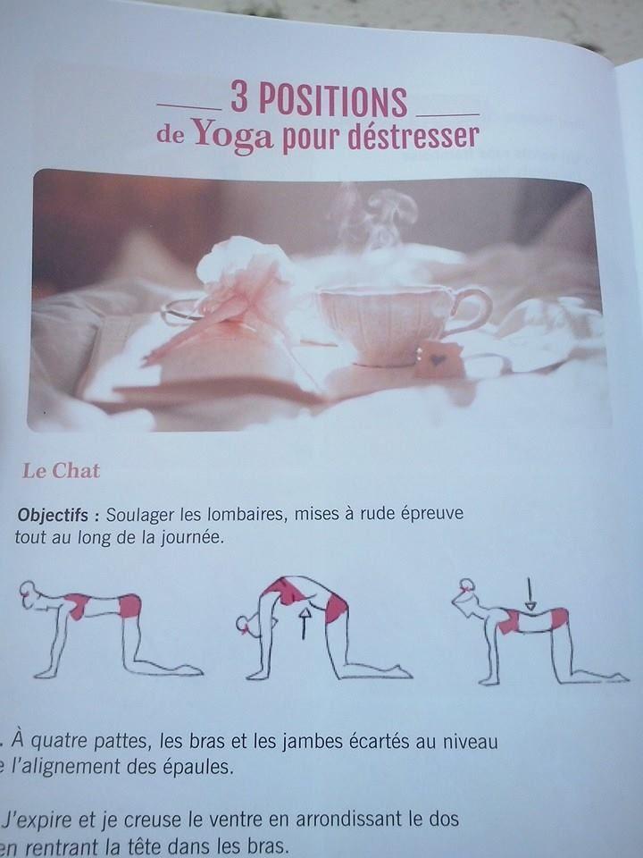 postures yoga ,mag glossybox hello sunshine