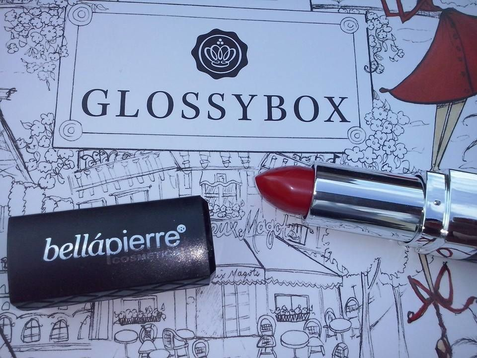 rouge a lèvres bellapierre, glossybox
