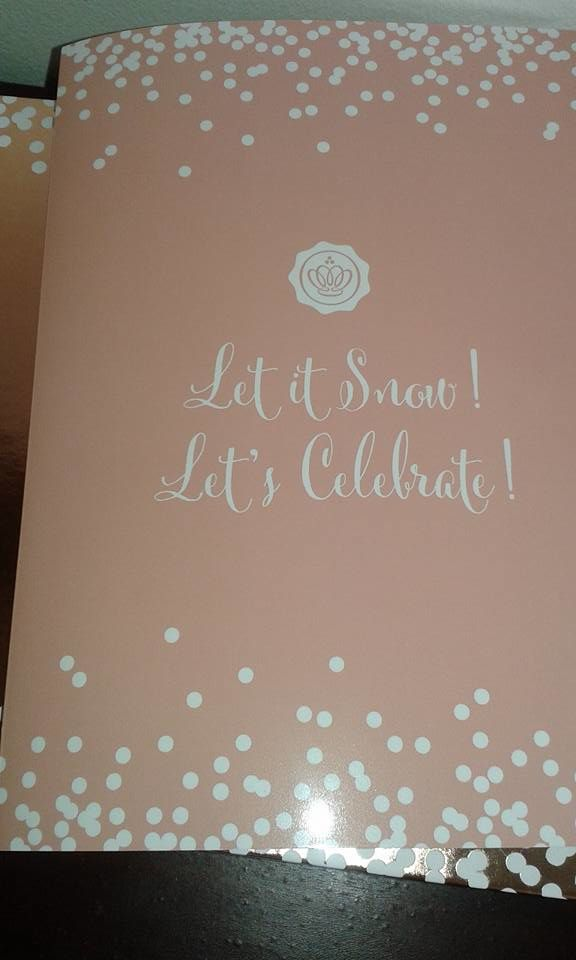 let's celebrate !glossybox