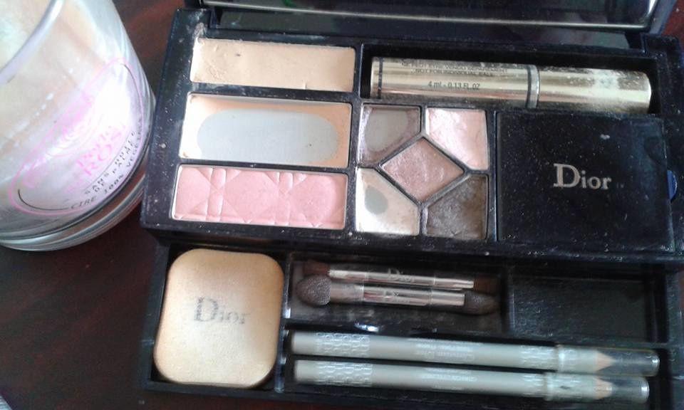 un temps pour soi,make-up du matin, dior,veld's,gemey