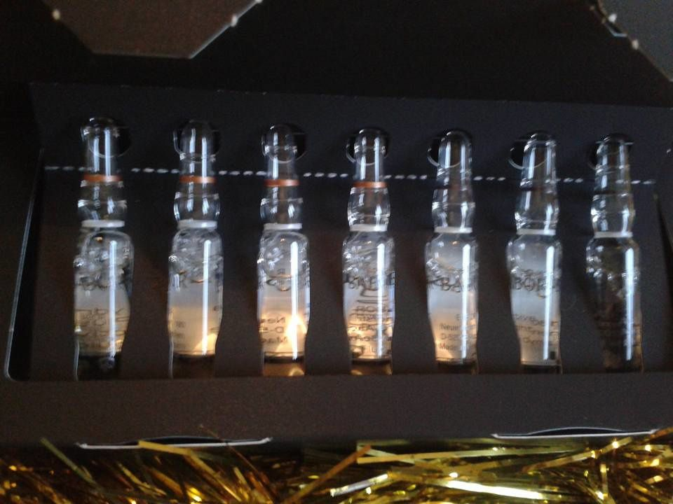 ampoules de soin hydratantes jour/nuit ,hydra plus active fluid night/day by babor cosmetics