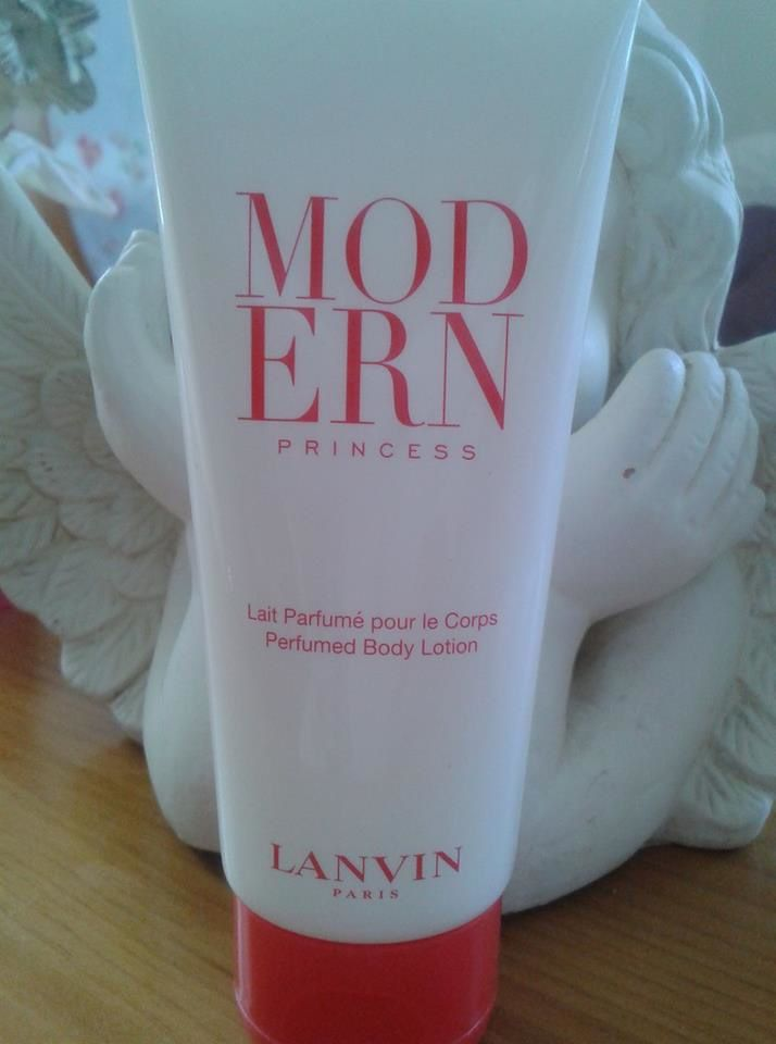 modern princess by lanvin, bodylotion, lait corps