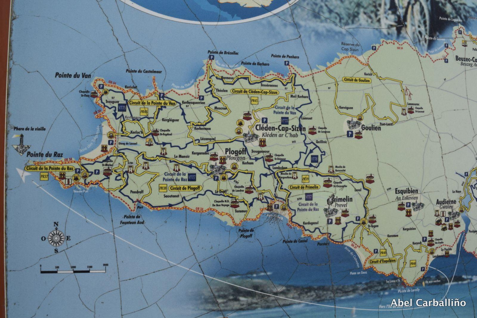 Le Finistère. Pointe du Raz, Pointe du Van, Réserve naturelle du Cap Sizun, les animaux