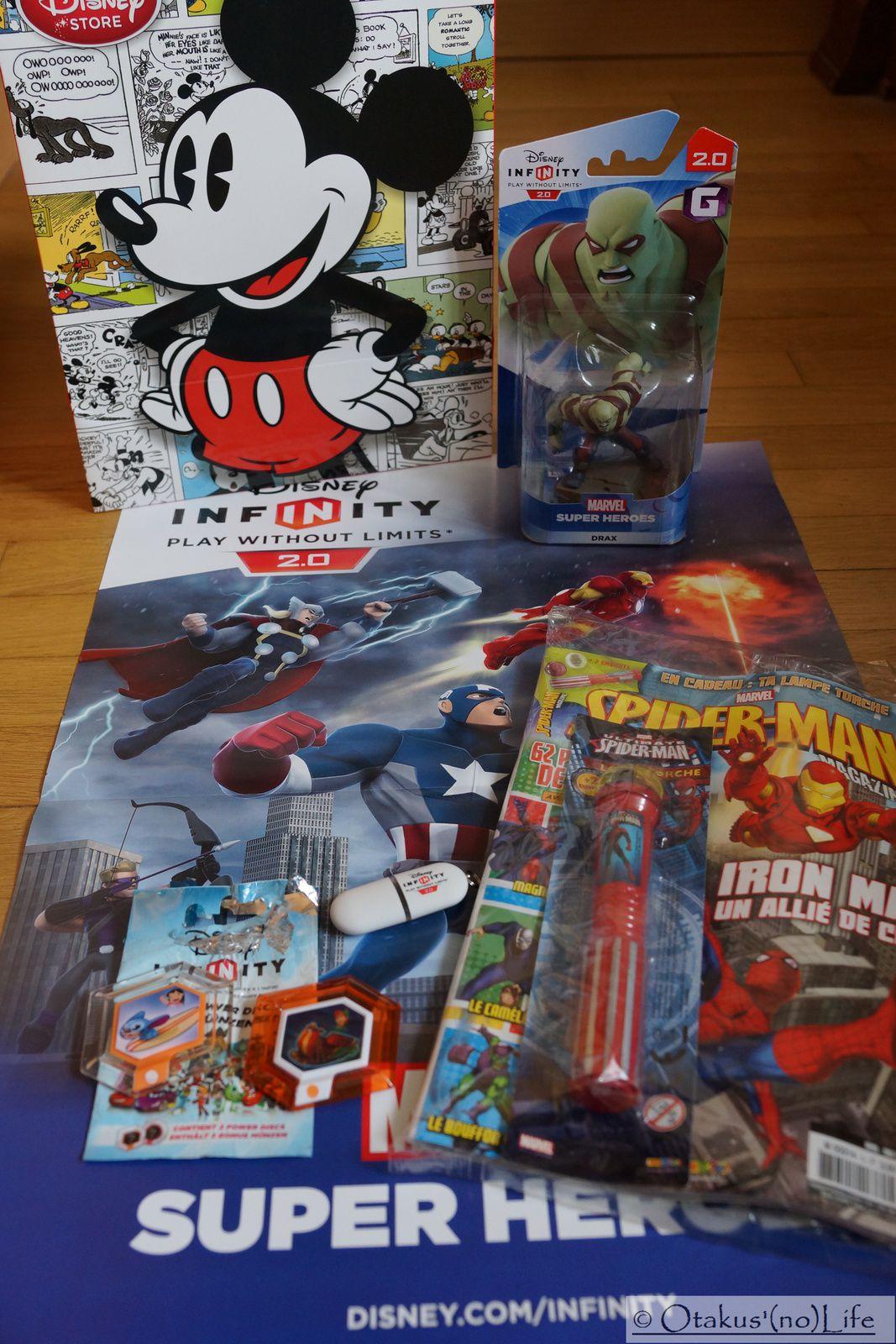 [COMPTE-RENDU] Disney Infinity 2.0 : Marvel Super Heroes