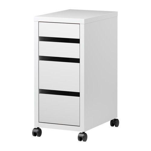 Caisson à tiroirs Micke Ikéa 49€90