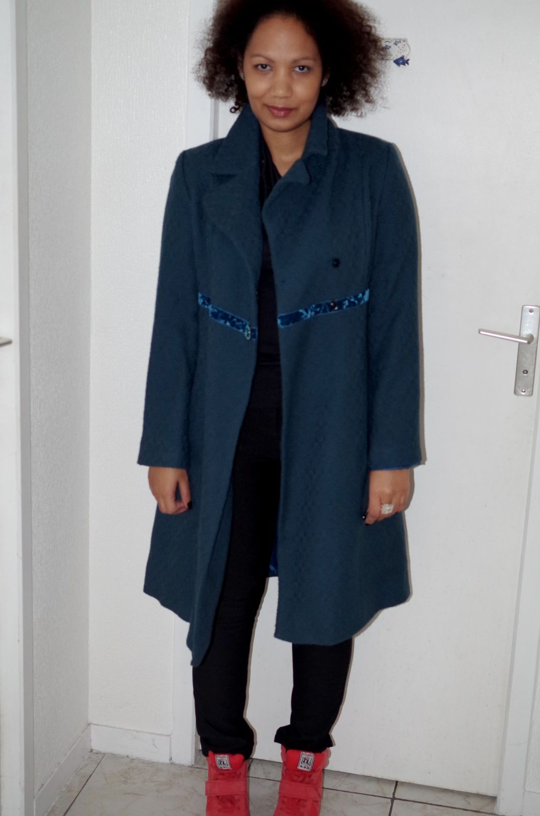 Peacock coat is back