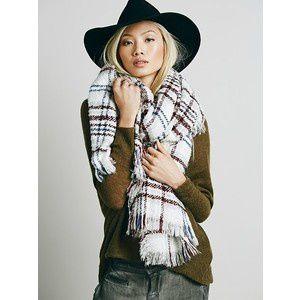 Inspiration - Plaid scarf