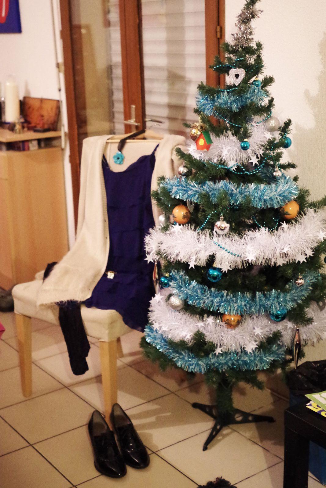 Noël, je le vois en bleu et vert