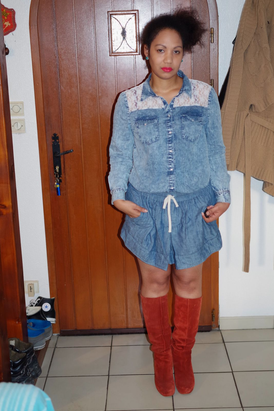 FASHION ROUND - Toutes en denim