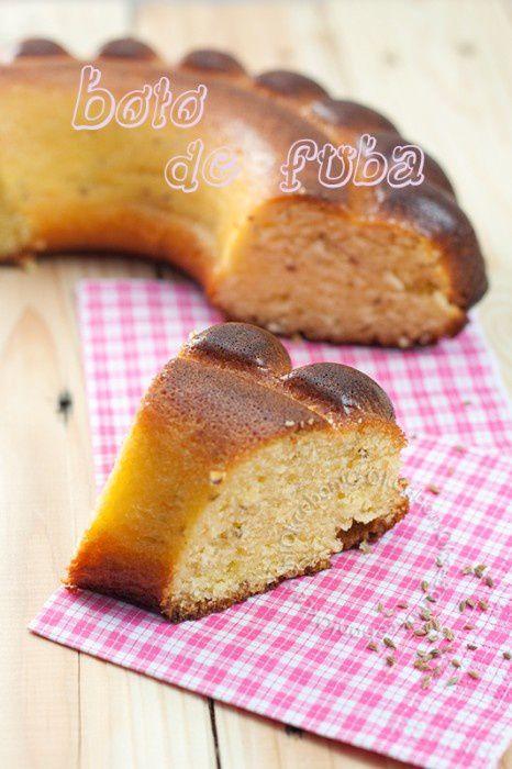 recette de gâteau traditionnel brésilien à la farine de maïs et anis vert