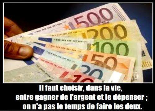 LE CHARISME ET L'ARGENT.