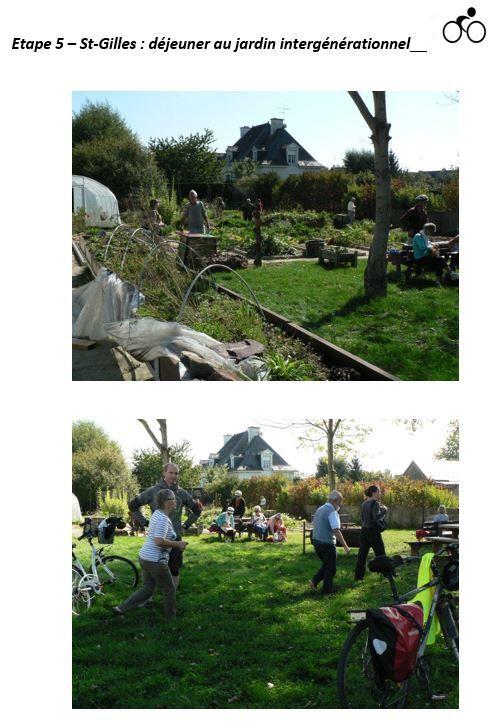 St-Gilles : déjeuner au jardin intergénérationnel