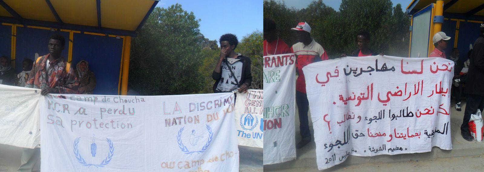 Blog de makaila: Interview avec un réfugié tchadien du camp de Choucha en Tunisie