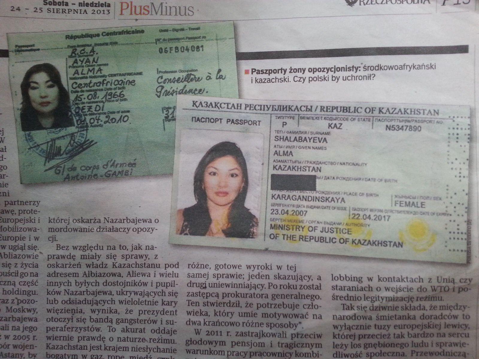 Bozizé vendait-il des passeports diplomatiques centrafricains?