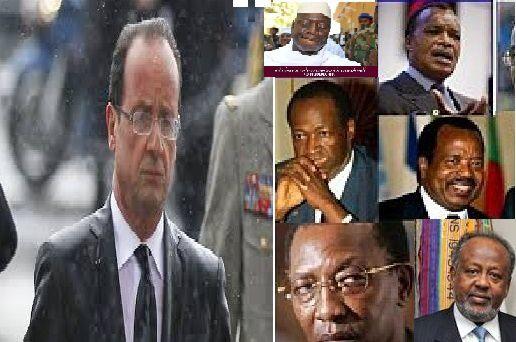 Les dictateurs africains s'autonomisent, François Hollande  contraint !
