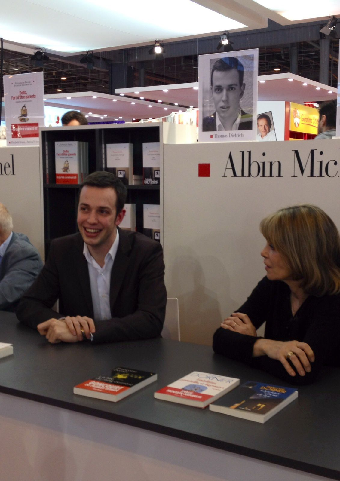 Salon du livre de Paris: l'écrivain Thomas Dietrich fera une interview publique