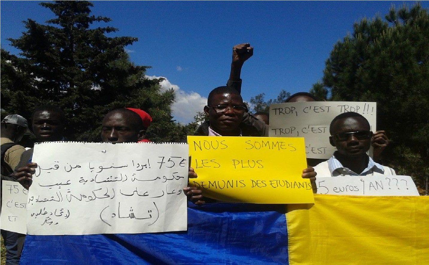 Alger: nouvelle mobilisation des étudiants tchadiens qui envisagent une grève de la faim illimitée