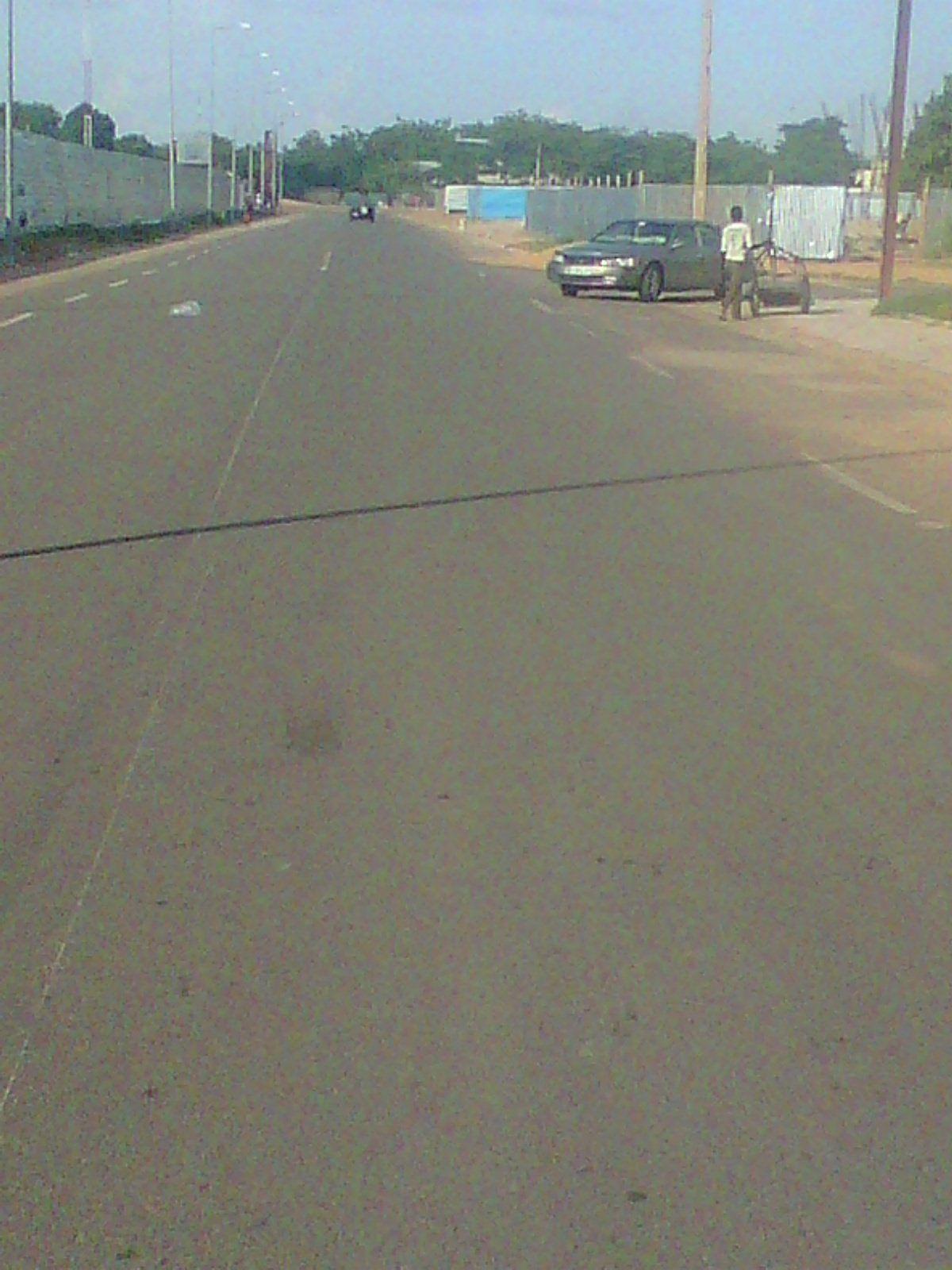 Images de la journée ville morte bien observée au Tchad