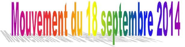 Tchad: Mouvement du 18 septembre 2014