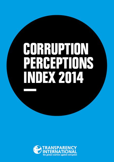 Indice de perception de la corruption 2014: le Tchad,154ème (Transparency International)