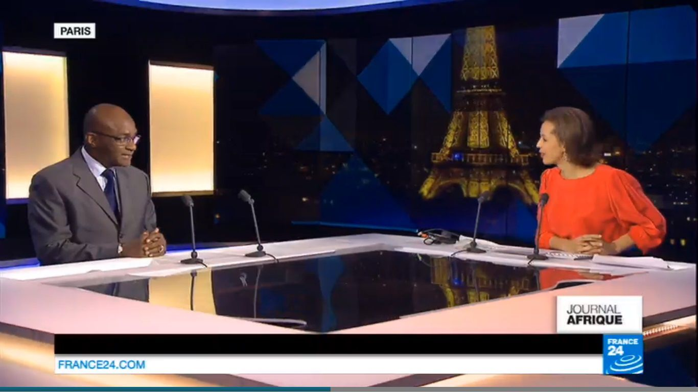 Invité France24: Saleh Kebzabo