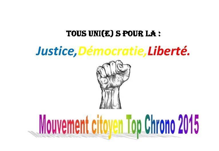 Top Chrono 2015: il faut redoubler de vigilance au Tchad