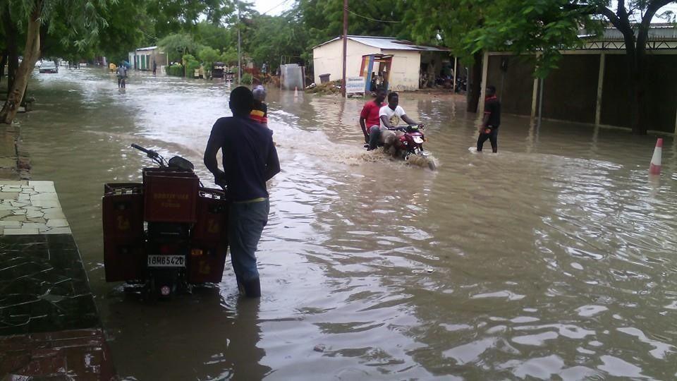 Ndjaména, la vitrine de l'Afrique inondée