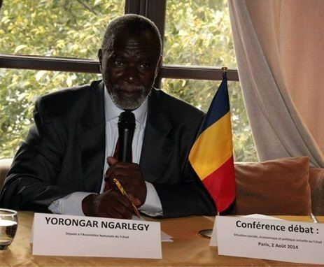 Tchad: le député Ngarléjy Yorongar invite à une Conférence Débat à Paris