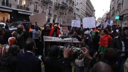 Crise au Burkina-Faso: appel à manifester à Paris