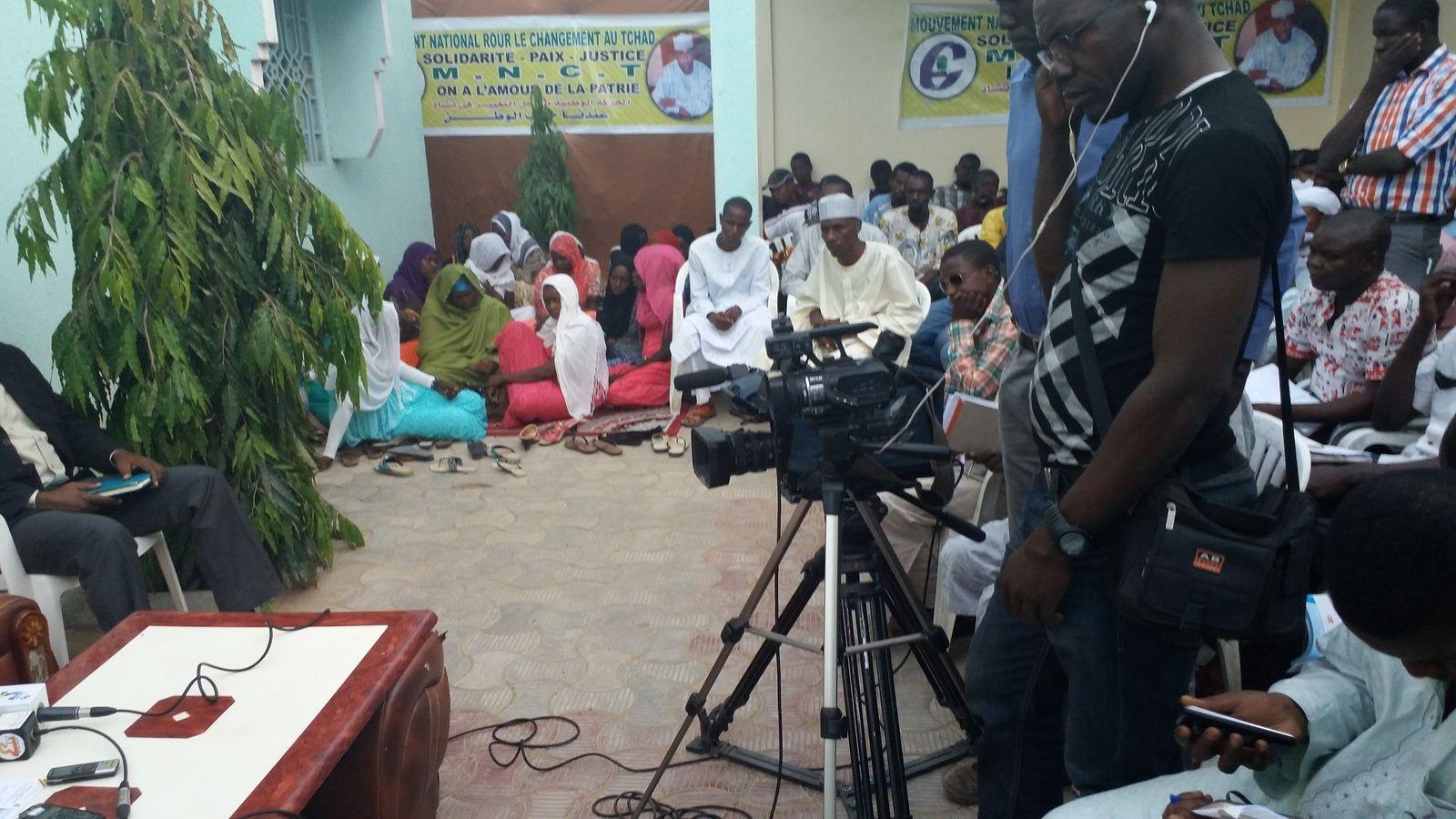 Après sa tournée en Europe, le leader du MNCT  face à la presse au Tchad