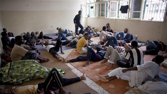 Le sort de 3000 Tchadiens détenus à Misrata inquiéte la C.T.D.D.H
