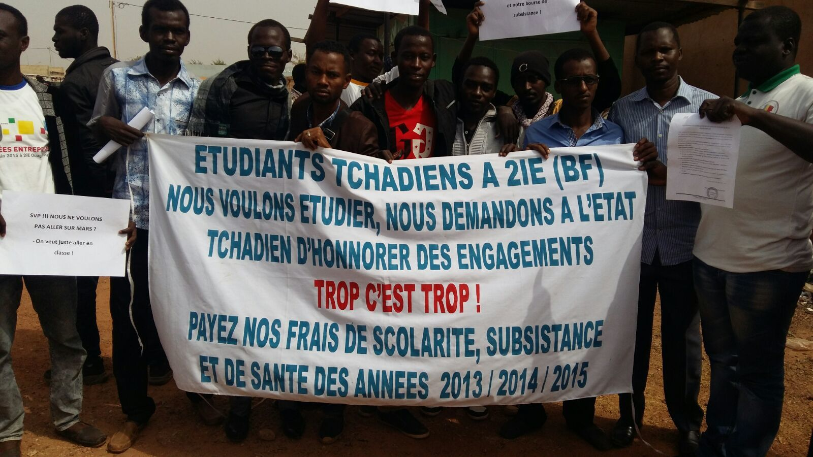 Doléance des étudiants Tchadiens de la Fondation 2iE (Burkina Faso)