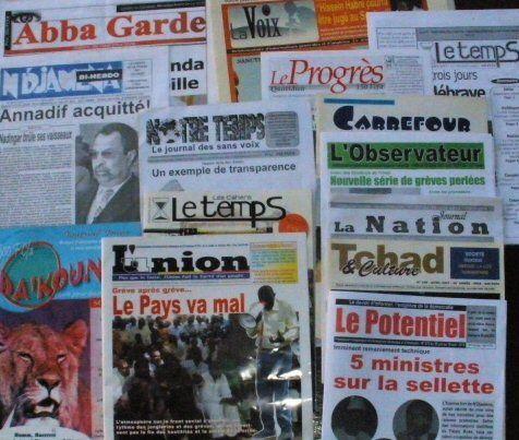 N'djamena : La crédibilité des journaux locaux est mise en jeu