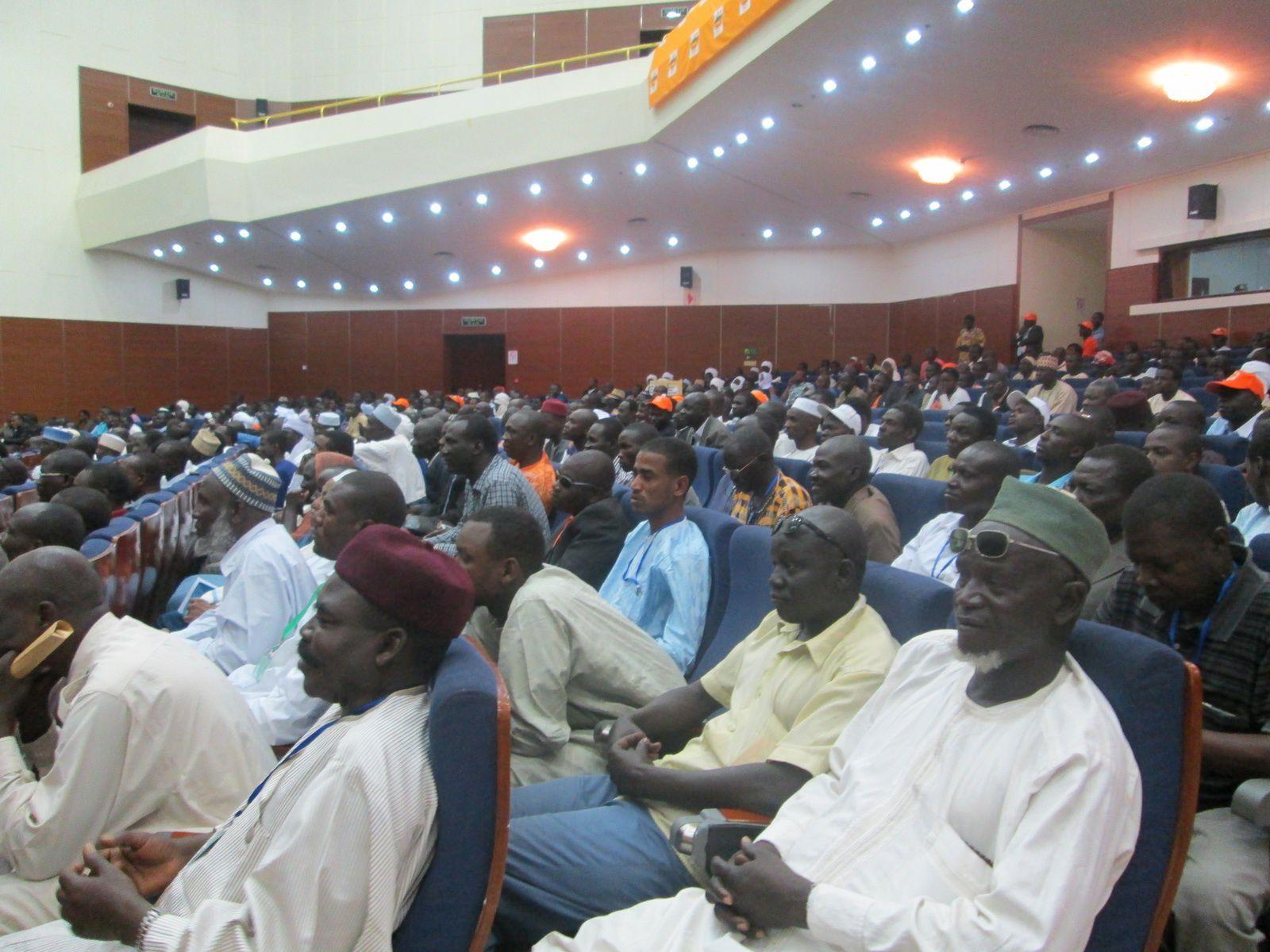 Investiture du président de l'UNDR à la présidentielle au Tchad: discours de clôture