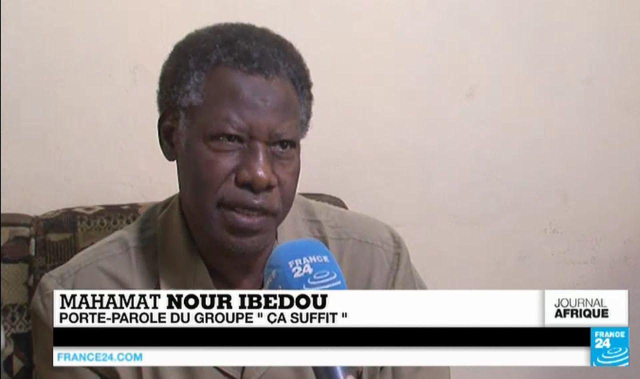 Sur Fr24, Mahamat Nour Ibedou exige d'Idriss Deby de ne pas se représenter  à la présidentielle 2016